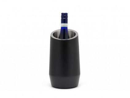 Chłodnica dla wina Leopold Wiedeń czarny dwuścienny