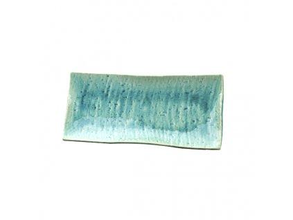 Talerz do sushi i sashimi Turquoise 29 x 13 cm MIJ