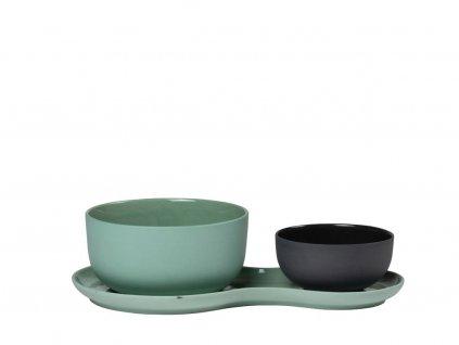 Porcelanowy zestaw do serwowania Zupa i sałatka & Kale Nudge
