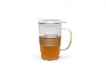 Kubek do herbaty z filtrem i pokrywką Veneto Bredemeijer 530 ml