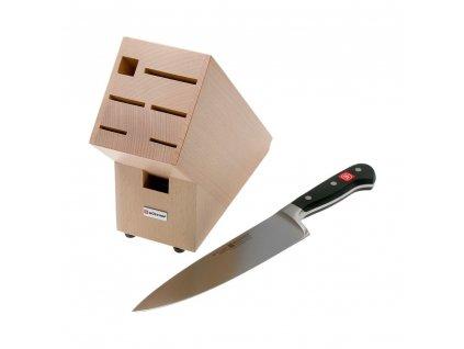 Nóż kuchenny 2v1 + darmowy blok WÜSTHOF