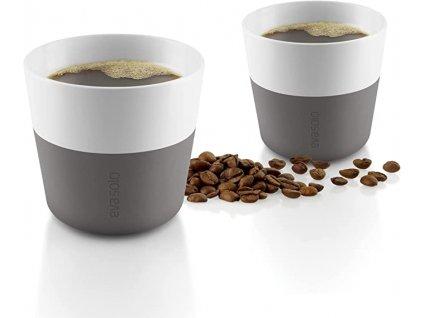 Kubki termiczne do kawy Lungo 230 ml 2 sztuki szare Eva Solo