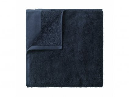 Ręcznik do sauny Riva Blomus ciemnoszary 100x200 cm