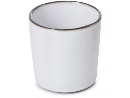 Kubek bez uchwytu Caractere Revol biały 220 ml