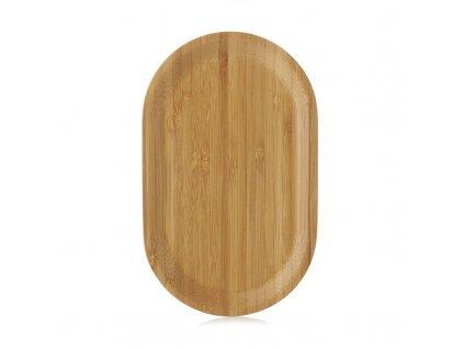 Bambus taca Pekoe Revol 21x13 cm
