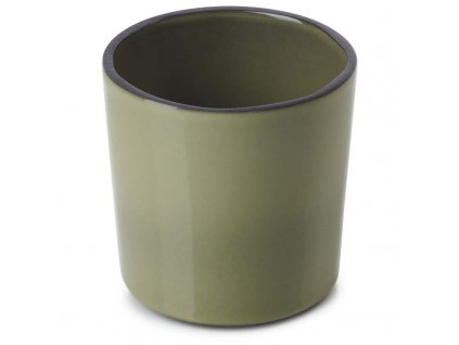 Kubek bez uchwytu Caractere Revol olive 220 ml
