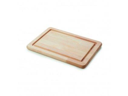 Drewniany taca/krojenie tablica IBR Revol 34x24 cm