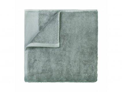 Ręcznik do sauny Riva Blomus siwy 100x200 cm