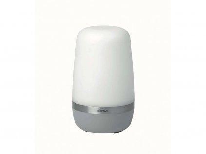 Zewnętrzny LED lampa Spirit Blomus mała srebrnoszary