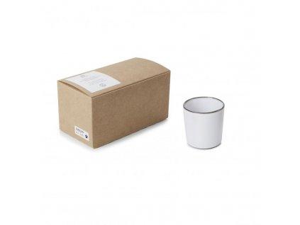 Zestaw kubki bez zakładek Caractere Revol białe 2 szt.