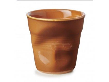 Filiżanka do espresso Froissés Revol karmel 80 ml
