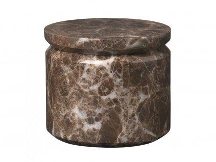 Marmur słoik Pesa Blomus brunatna