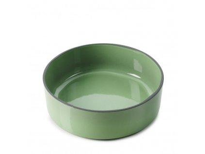Płytka z wysokim brzegiem Caractere Revol zielony 17 cm 17