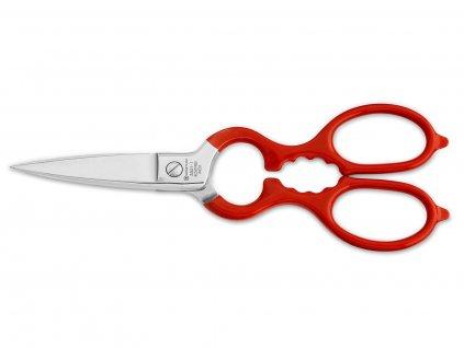 Nożyczki kuchenne Wüsthof czerwone