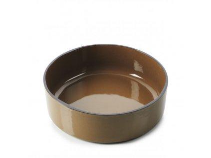 Płytka z wysokim brzegiem Caractere Revol czekolada 17 cm