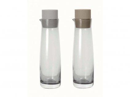 Zestaw pojemniki dla oleju i ocet Olvigo Blomus krem/beż 2 szt.