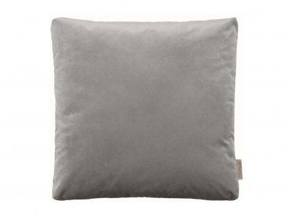 Aksamitny poszewka na poduszkę Voga Blomus ciepły szary 45x45 cm
