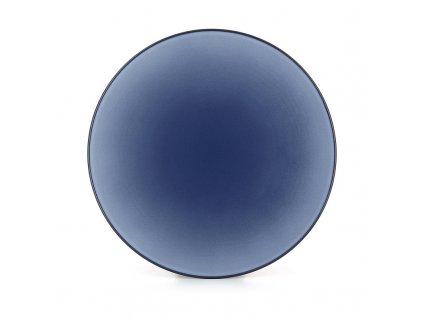Płytka płyta Równonocny Rewolwer niebieski 24 cm