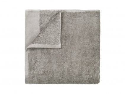 Ręcznik Riva Blomus siwy 70x140 cm
