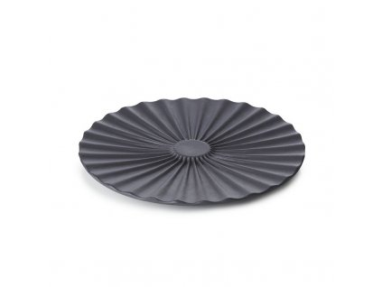 Podšálek do miski do herbaty Pekoe Revol czarny 14 cm