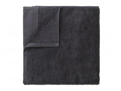 Ręcznik Riva Blomus ciemnoszary 50x100 cm