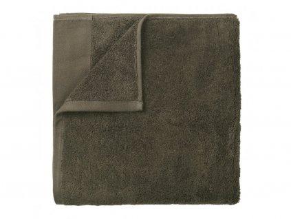 Ręcznik Riva Blomus zielony 50x100 cm