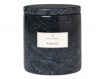Świeca zapachowa w marmurowej skrzyni Frable Blomus czarny