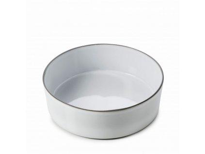 Miska na sałatkę Caractere Revol biała 19 cm