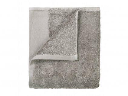 Zestaw ręczników Riva Blomus szare 30x30 cm 4 szt.