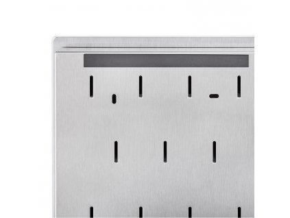 Skrzynka na klucze z magnetycznymi drzwiczkami VELIO 20 x 30 cm biała
