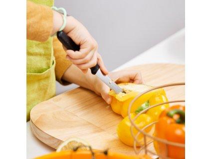 Deska do krojenia drewniana 38 x 23 cm ONO