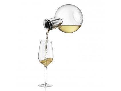 Chłodząca karafka-dekanter na wino 0,75 l