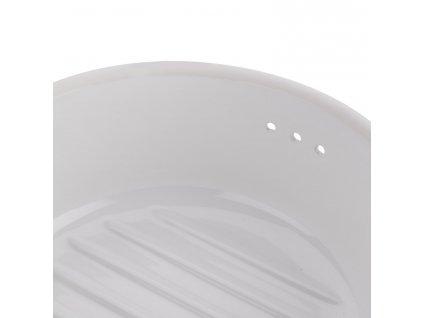 Pojemnik do przechowywania okrągły placek biały® Römertopf