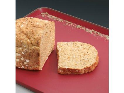 Wielofunkcyjna deska do krojenia z ząbkami duża czerwona Cut&Carve™ Plus Joseph Joseph
