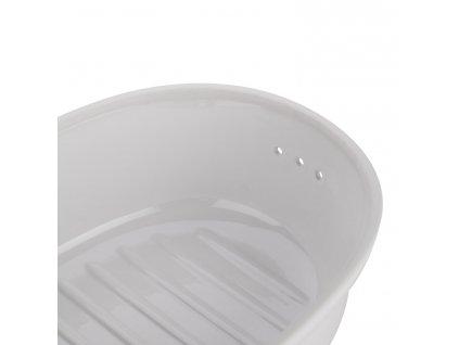 Naczynie do przechowywania pieczywa owalne, białe®