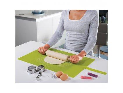 Silikonowa podkładka/rolka ciasto zielony Roll-up™ Józef Józef