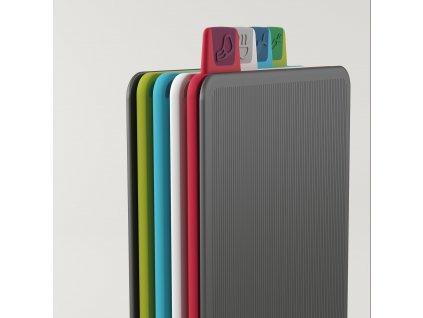 Stojak z deskami do krojenia mini 20,5 x 15 cm grafitowy Index™