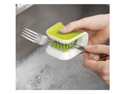 Szczotka dla noży i sztućce zielony BladeBrush™ Joseph Joseph