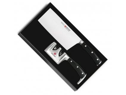 Chiński nóż szefa kuchni Klasyczny Ikona za pomocą szlifierki WÜSTHOF