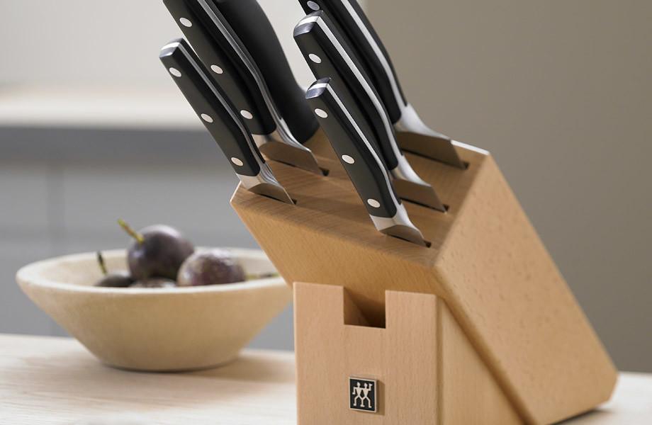 Bloky a stojany na nože