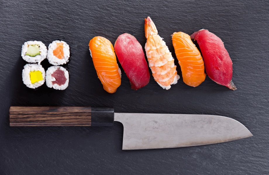 Japonské a Santoku nože