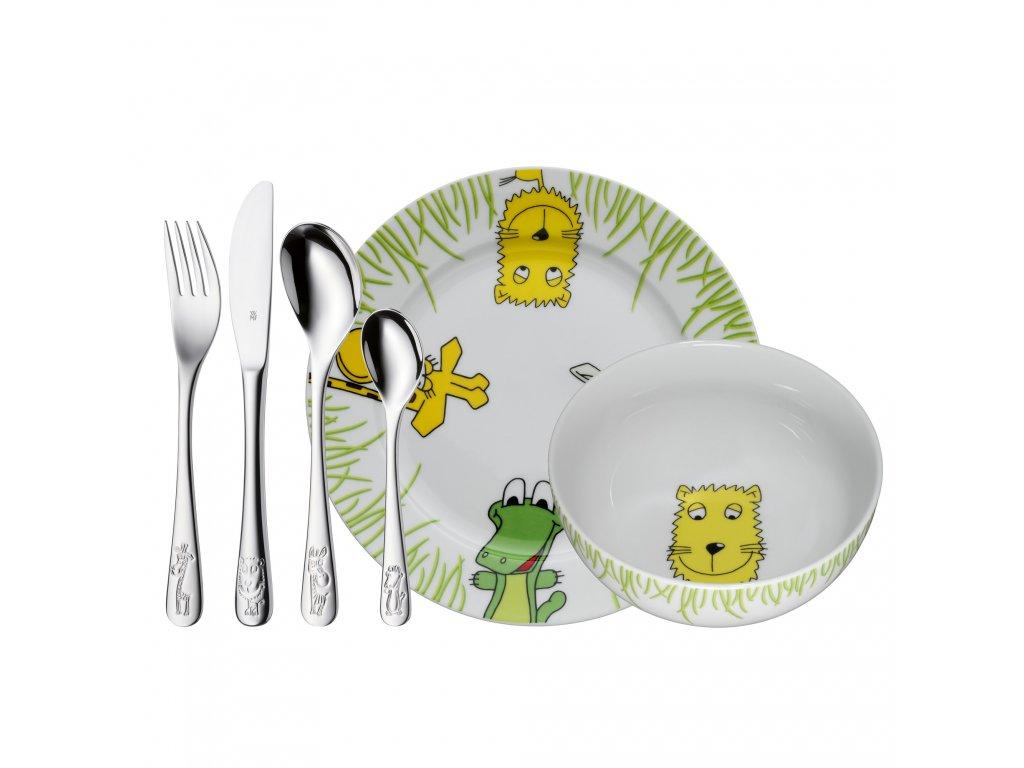Detská jedálenská súprava 6-dielna Safari WMF