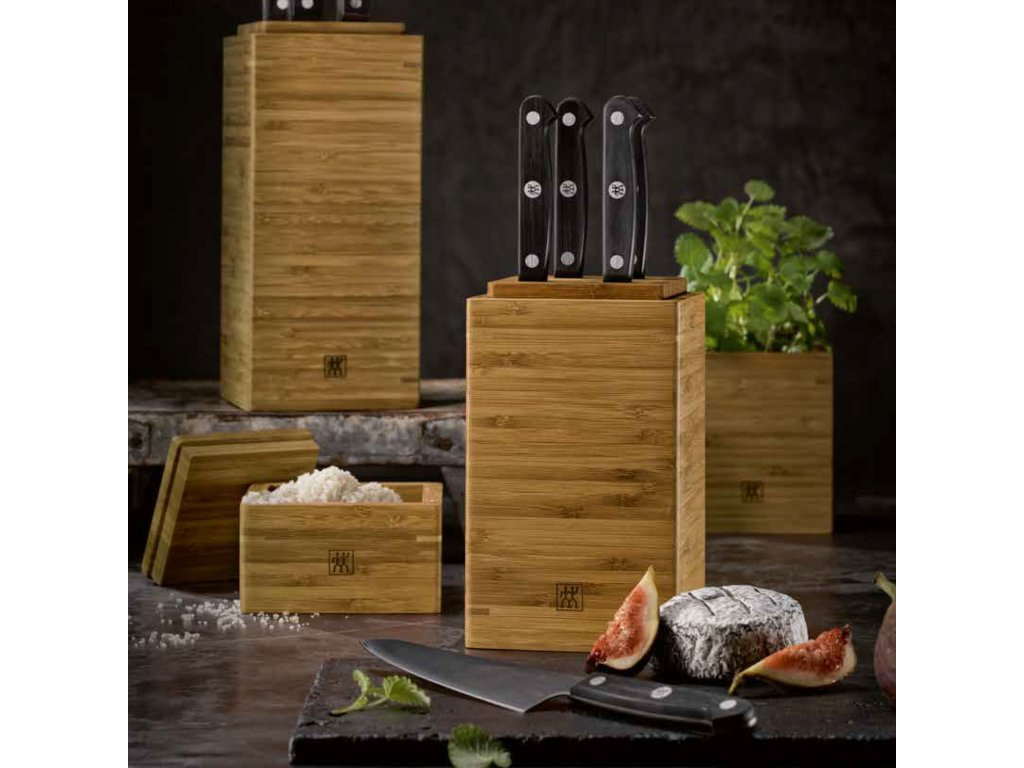 Bambusový box na kuchynské náčinie 24 cm ZWILLING