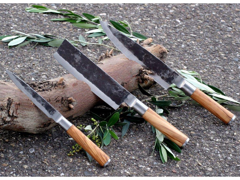 Sada nožov Forged Olive 3 ks
