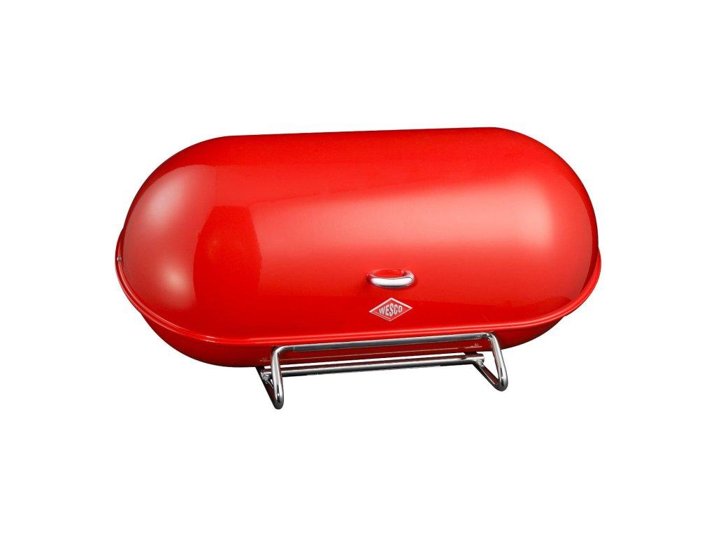 Chlebník Breadboy červený Wesco
