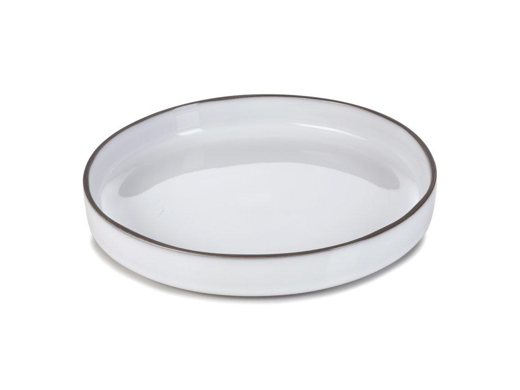 Jedálenský tanier GOURMET biely White Cumulus CARACTERE REVOL