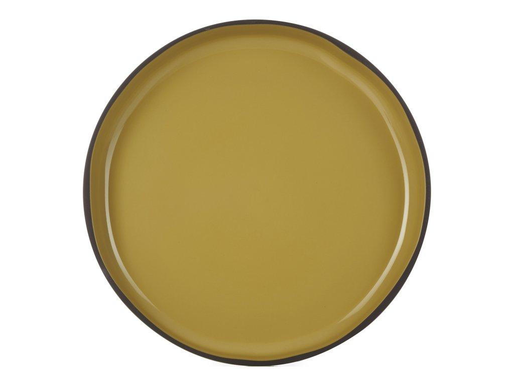 Jedálenský tanier GOURMET kari Tumeric CARACTERE REVOL