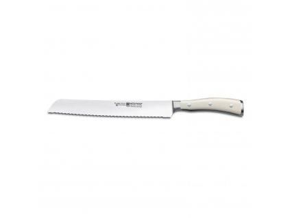 Nôž na chlieb 23 cm Classic Ikon creme WÜSTHOF