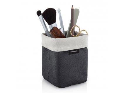 Obojstranný košík na kozmetické potreby malý pieskový/antracitový ARA Blomus