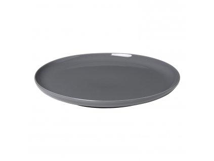 Plytký tanier na hlavné jedlo RO tmavosivý Blomus